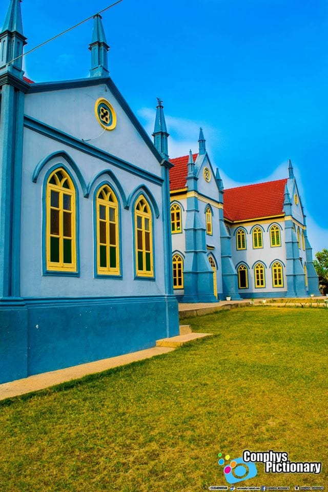 The Ancient Methodist Church at Sekondi