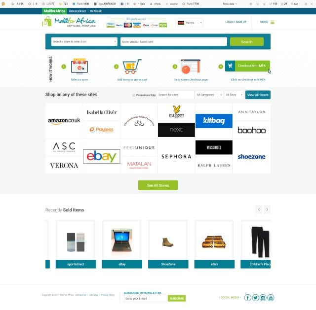 some of the top African ecommerce platforms that are really making the mark on the African continent...65.4 million eCommerce users in Africa