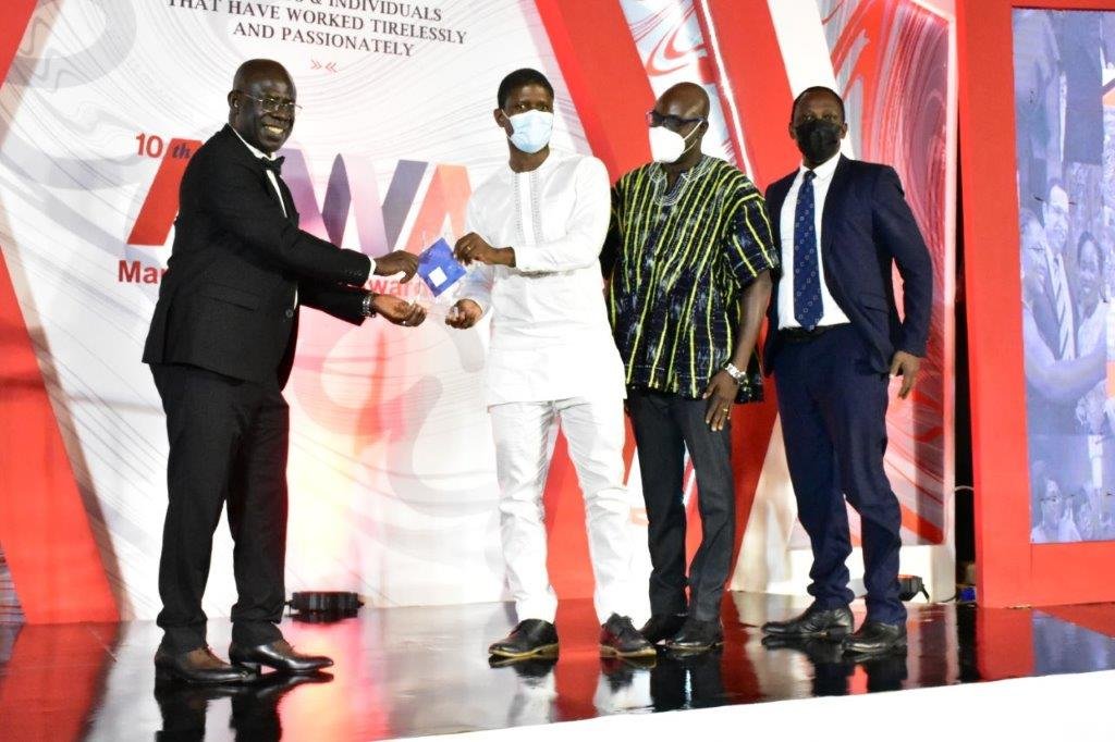 MTN Ghana receive recognition at the 10th Marketing World Awards