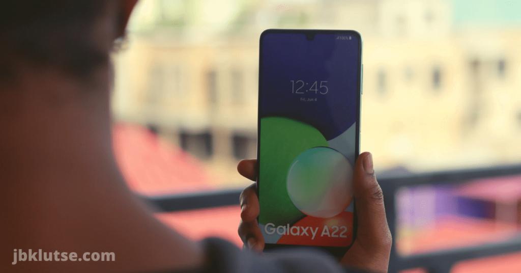 Samsung Galaxy A22 display