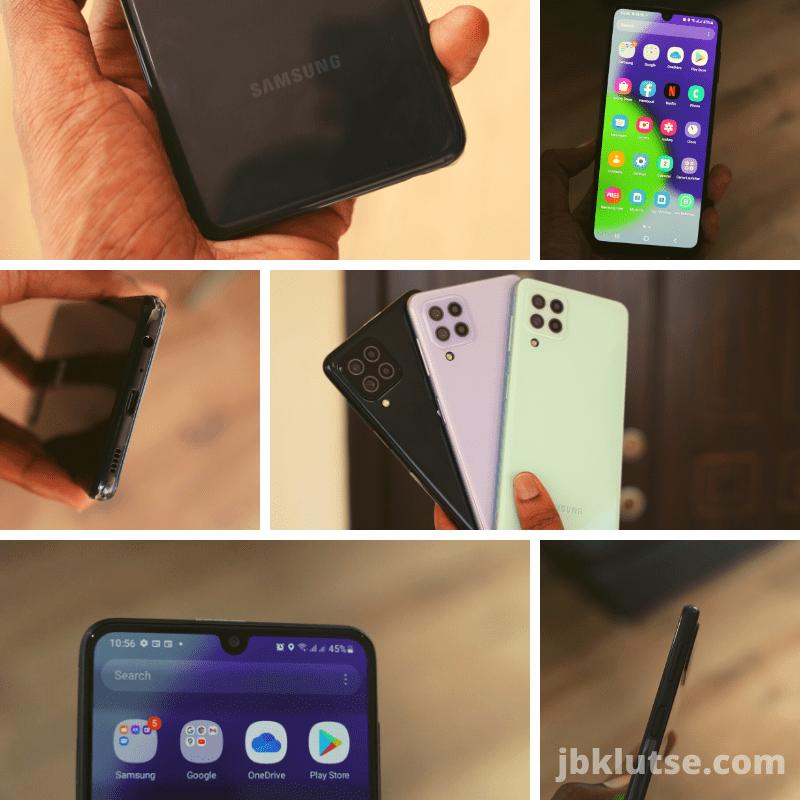 Samsung Galaxy A22 hardware